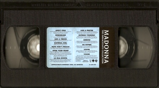 immaculate-collection-vhs-2