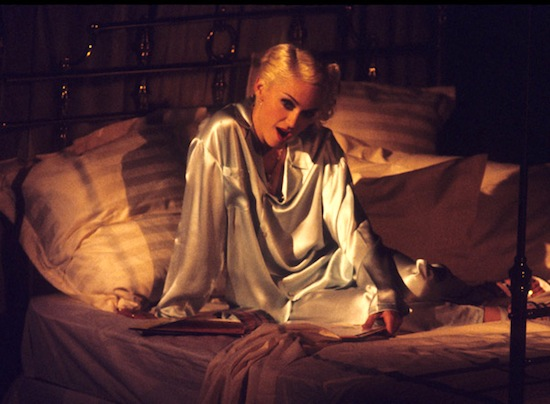 Image result for Madonna reads a bedtime story on MTV