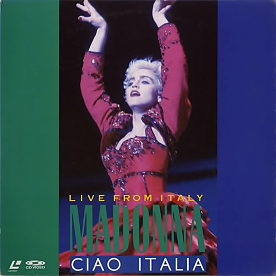 Ciao Italia Japan Laserdisc Cover