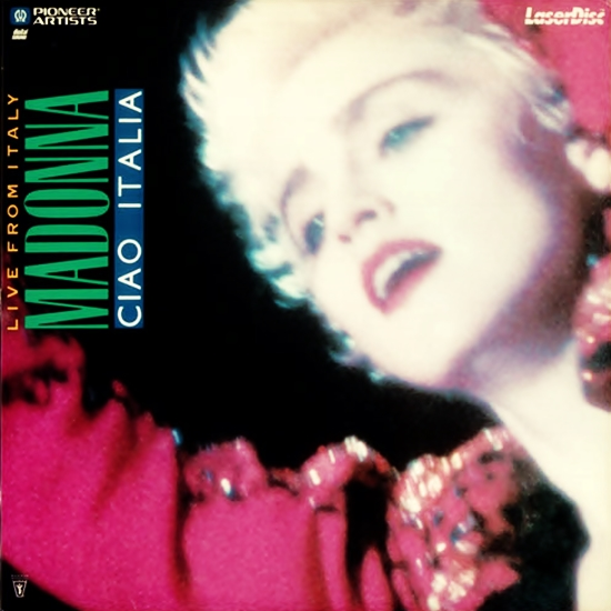 Ciao Italia US Laserdisc Cover