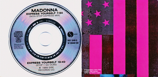 "EY German 3"" CD (CD & Inner Sleeve)"