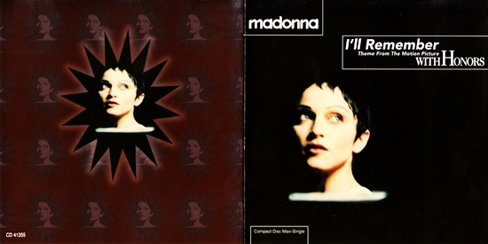 i'll remember canadian cd-maxi cover insert