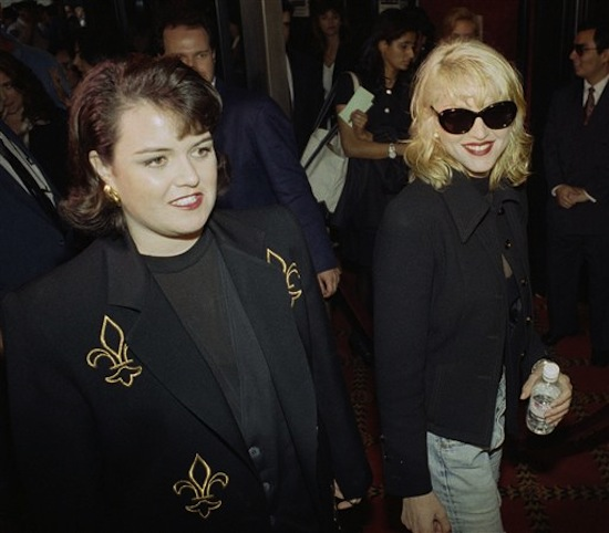 Rosie O'Donnell,  Madonna