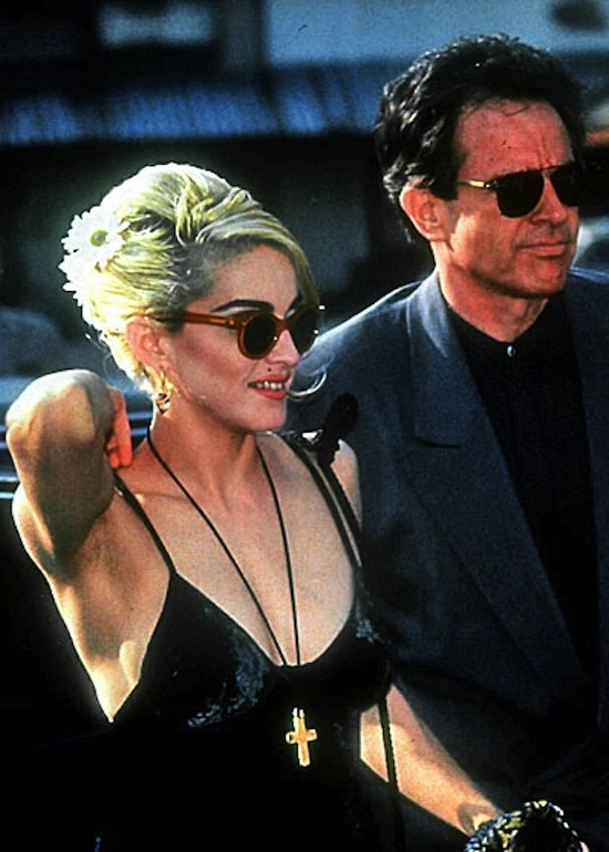 On June 10 1990  Madonna and Warren Beatty attended the premiere of    Warren Beatty Madonna