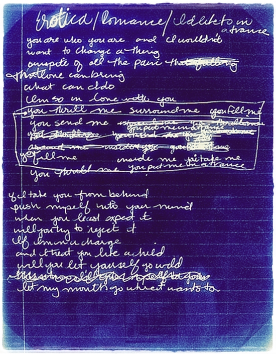 erotica early lyrics 2
