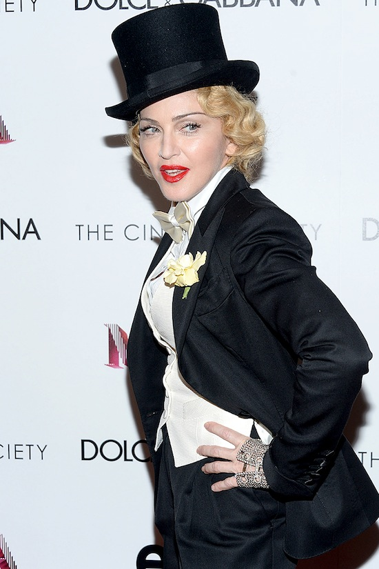 "Dolce & Gabbana And The Cinema Society Present The Epix World Premiere Of ""Madonna: The MDNA Tour"""