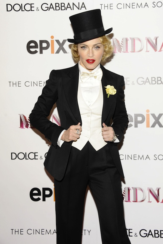 DOLCE & GABBANA and THE CINEMA SOCIETY present the EPIX WORLD PREMIERE of MADONNA: THE MDNA TOUR