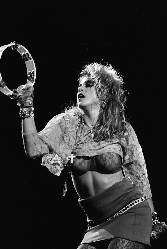 "Madonna ""The Virgin Tour"""