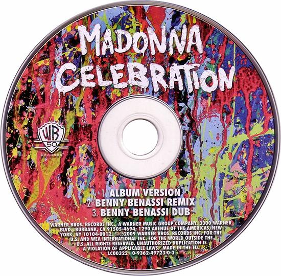 Celebration (EU CD) 550