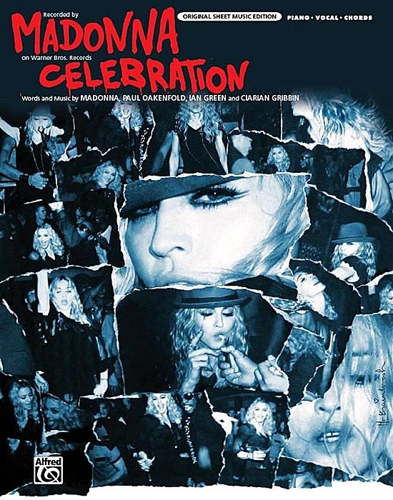 Celebration (Sheet Music Cover) 550 2