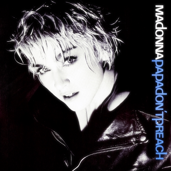 Papa Don't Preach single front