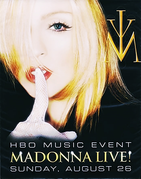 Madonna HBO Ad 2