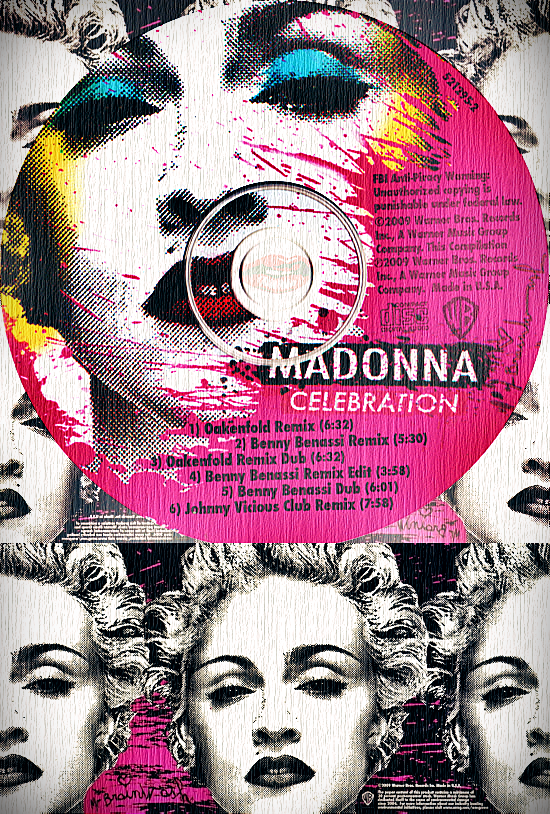 Celebration US Maxi CD & Inner Sleeve 550