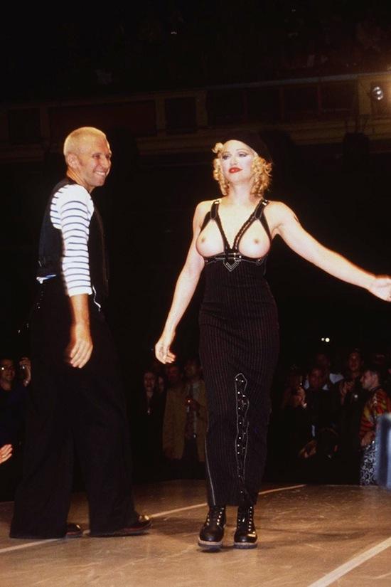 Madonna Jean Paul Gaultier Fashion Show Los Angeles