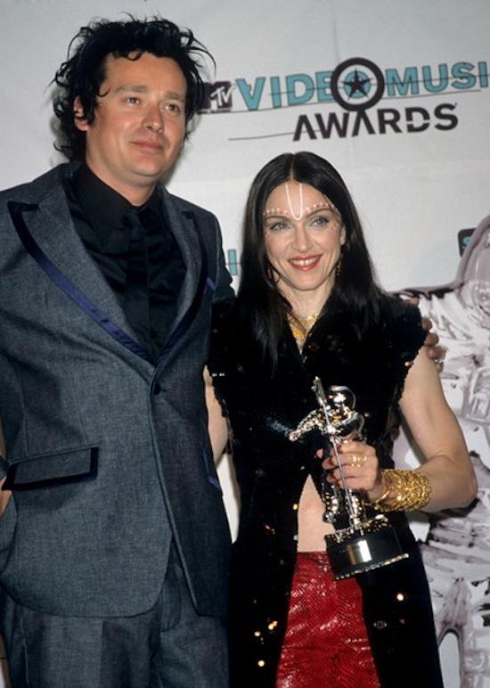 Jonas Akerlund and Madonna