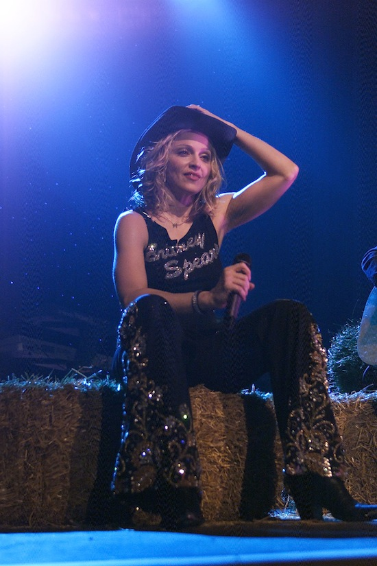 Madonna Roseland Performance