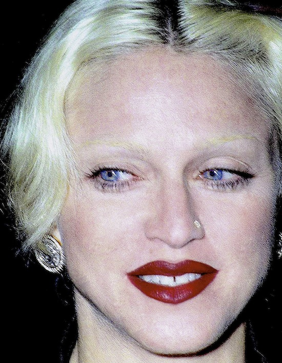 Eyebrows Today In Madonna History
