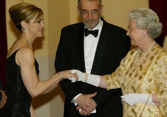QUEEN ELIZABETH AND MADONNA