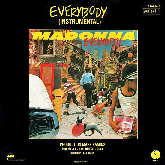Everybody France 7-inch 550 2