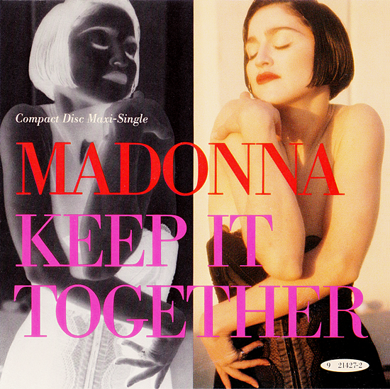 Keep It Together CD Cover 550