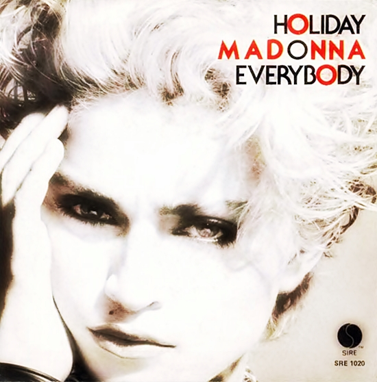 madonna holiday 7 inch promo 2