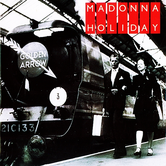 madonna holiday 7-inch train