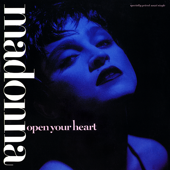 Open Your Heart 12'' Cover 2