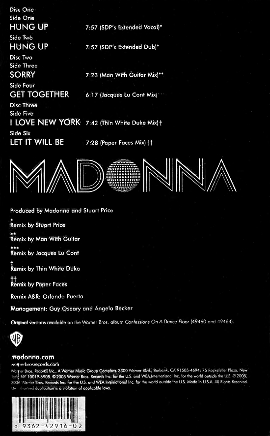 Let It Will Be Â« Today In Madonna History