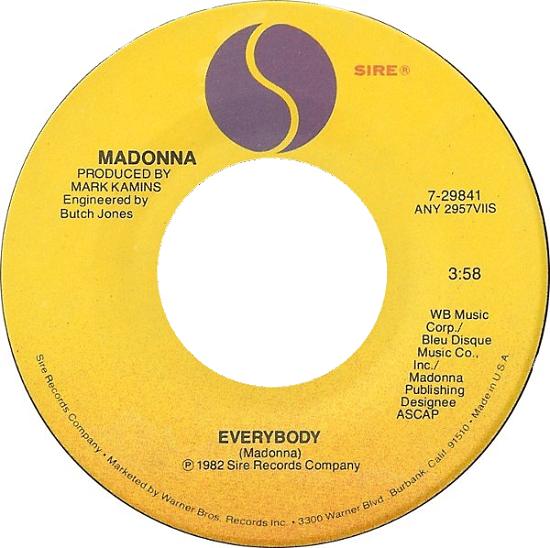 Everybody US 7-inch single