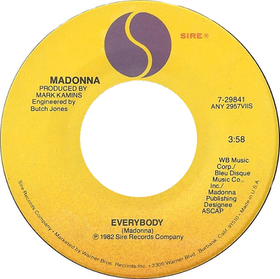 Everybody US 7-inch single