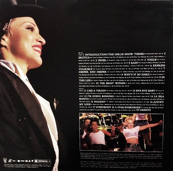 girlie show laserdisc back 550