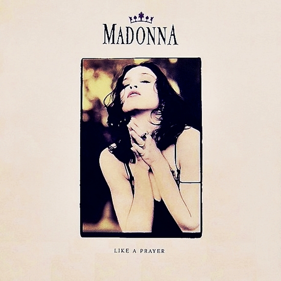 like a prayer single art 550