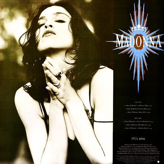 like a prayer usa promo vinyl