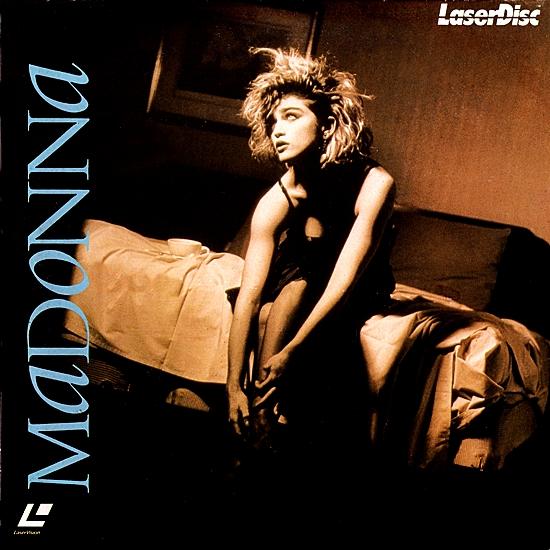 Madonna Japan Laserdisc 1 550