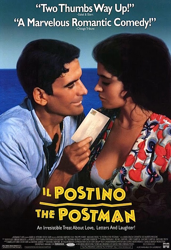 il postino poems A beautiful movie that does an excellent job bringing to life neruda's love poems and how they touch the life of a simpleton postman it inspires in one, a spiritual.