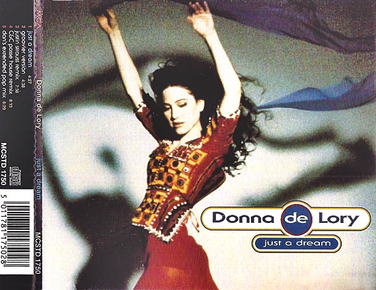 Just A Dream UK cd promo cover