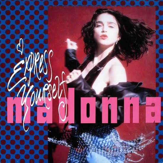 madonna-express-yourself-maxi-debut