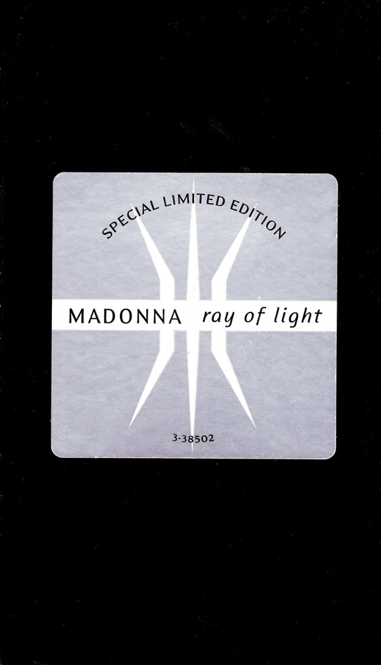 Ray Of Light Video Single_cover 550