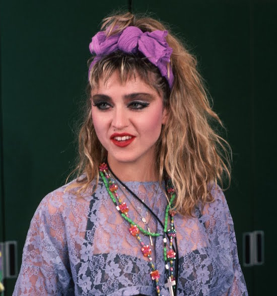 80s style hair bows the tour 171 today in madonna history 2982