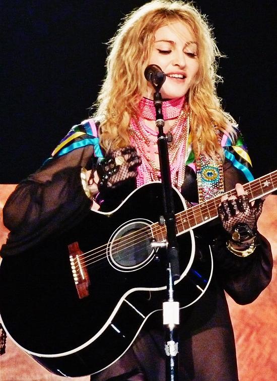 Madonna London O2 (July 4 2009) 1