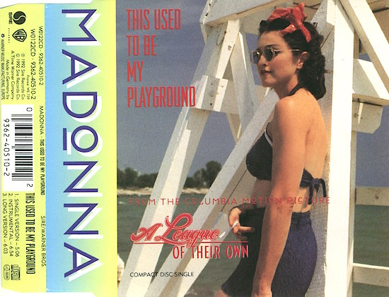Madonna - This Used To Be My Playground - Front (2-2)