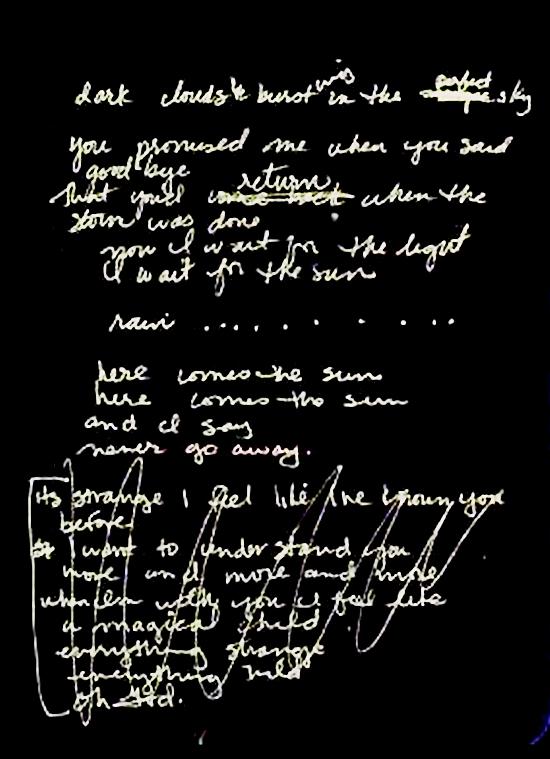 rain lyrics 550