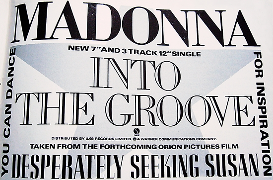 into the groove uk press promo