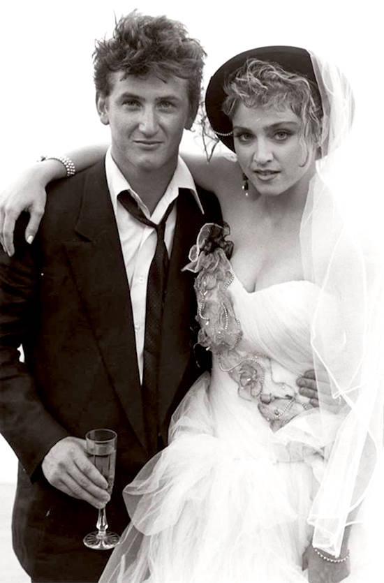 Sean Penn with Madonna