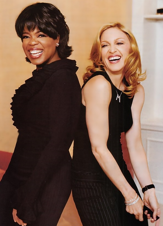 Madonna Oprah 2003 publicity photo 550
