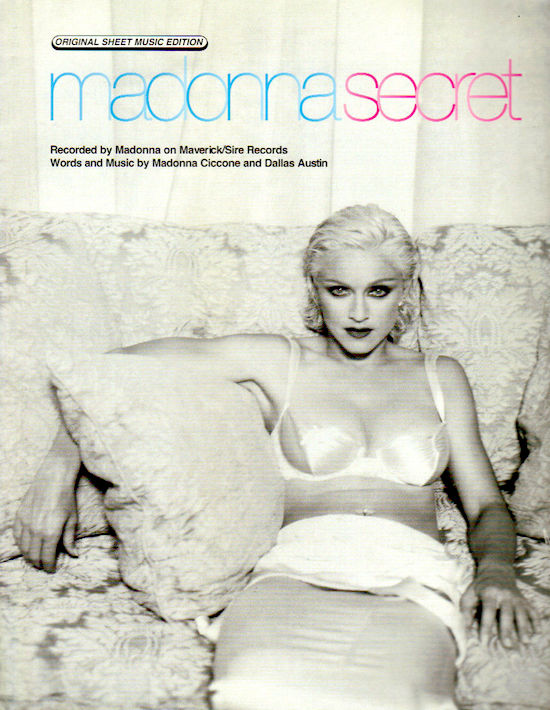 madonna-secret-sheet-music