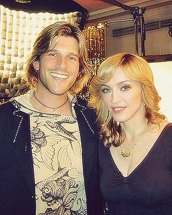 Madonna & Andrew G press photo 550