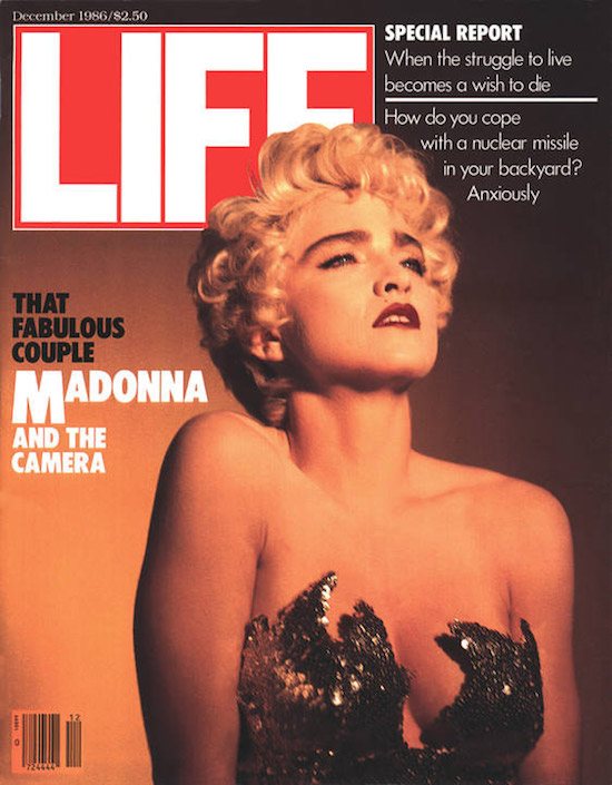 Madonna by Bruce Weber, Life Magazine '1986