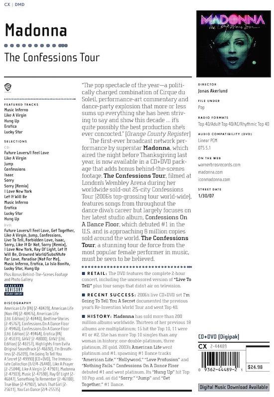 confessions-tour-live-cd-dvd-promo-sheet