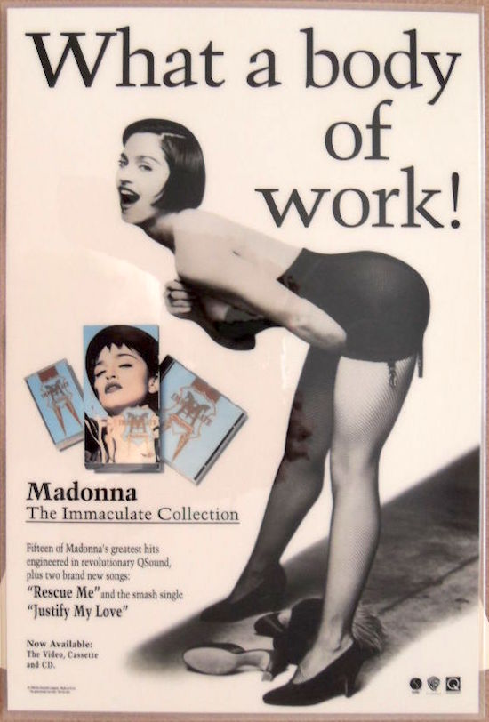 immaculate-collection-body-of-work-promo-stand